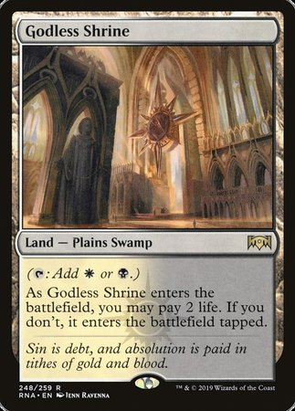 Godless Shrine [Ravnica Allegiance] | Eastridge Sports Cards & Games