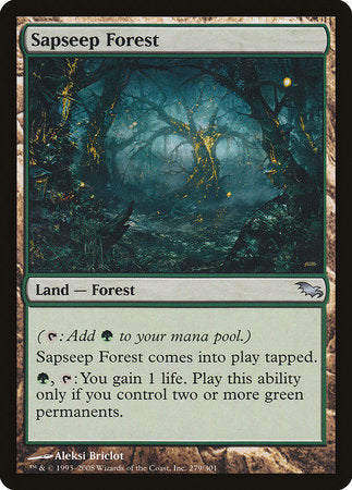 Sapseep Forest [Shadowmoor] | Eastridge Sports Cards & Games