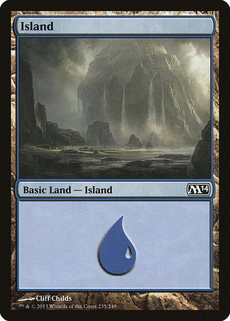 Island (235) [Magic 2014] | Eastridge Sports Cards & Games