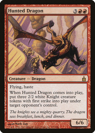 Hunted Dragon [Ravnica: City of Guilds] | Eastridge Sports Cards & Games