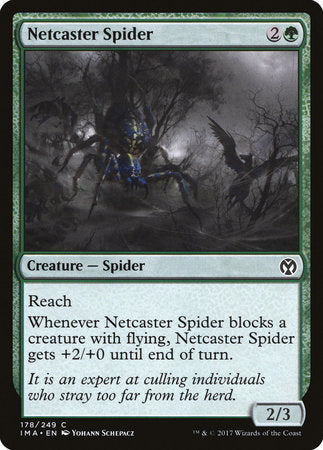 Netcaster Spider [Iconic Masters] | Eastridge Sports Cards & Games