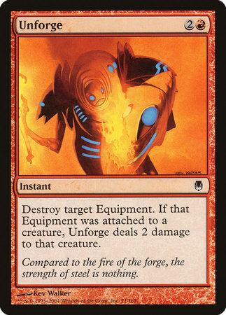 Unforge [Darksteel] | Eastridge Sports Cards & Games