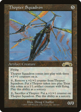 Thopter Squadron [Exodus] | Eastridge Sports Cards & Games
