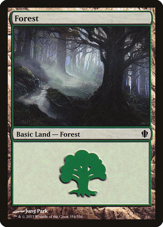 Forest (354) [Commander 2013] | Eastridge Sports Cards & Games