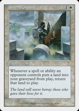 Sacred Ground [Seventh Edition] | Eastridge Sports Cards & Games
