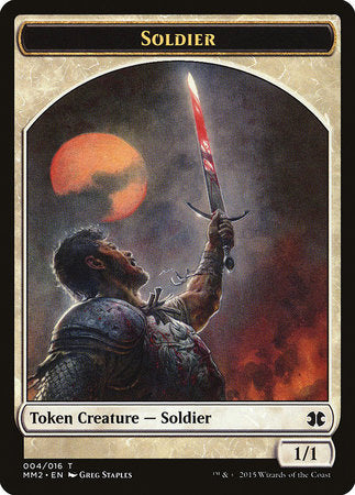 Soldier Token [Modern Masters 2015 Tokens] | Eastridge Sports Cards & Games