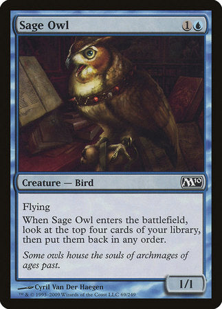 Sage Owl [Magic 2010] | Eastridge Sports Cards & Games