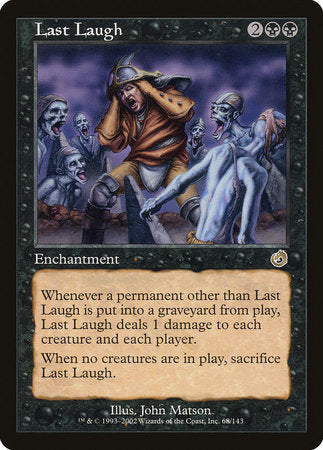 Last Laugh [Torment] | Eastridge Sports Cards & Games