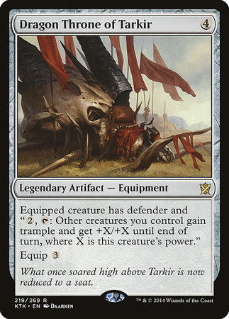 Dragon Throne of Tarkir [Khans of Tarkir] | Eastridge Sports Cards & Games