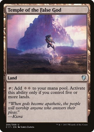Temple of the False God [Commander 2017] | Eastridge Sports Cards & Games