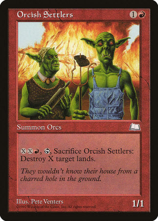 Orcish Settlers [Weatherlight] | Eastridge Sports Cards & Games