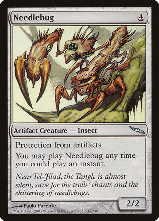 Needlebug [Mirrodin] | Eastridge Sports Cards & Games