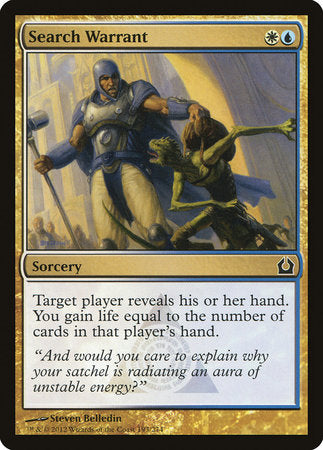 Search Warrant [Return to Ravnica] | Eastridge Sports Cards & Games