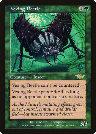 Vexing Beetle [Legions] | Eastridge Sports Cards & Games