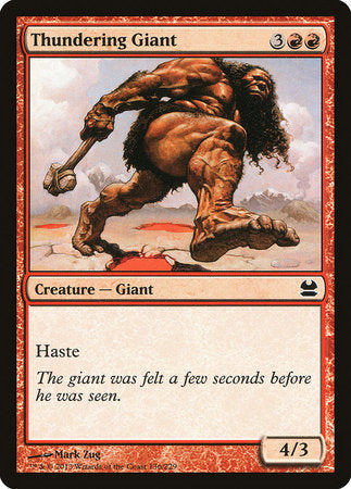 Thundering Giant [Modern Masters] | Eastridge Sports Cards & Games
