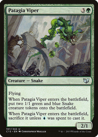 Patagia Viper [Commander 2015] | Eastridge Sports Cards & Games