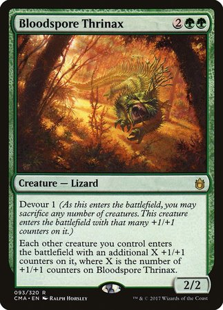 Bloodspore Thrinax [Commander Anthology] | Eastridge Sports Cards & Games