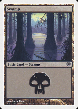 Swamp (342) [Ninth Edition] | Eastridge Sports Cards & Games
