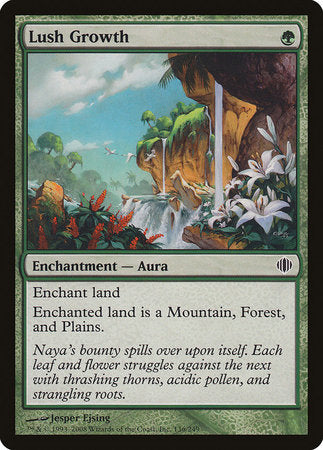Lush Growth [Shards of Alara] | Eastridge Sports Cards & Games