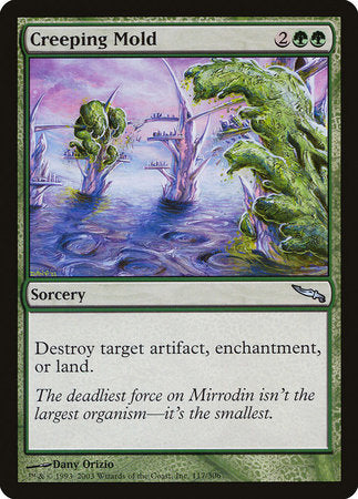 Creeping Mold [Mirrodin] | Eastridge Sports Cards & Games