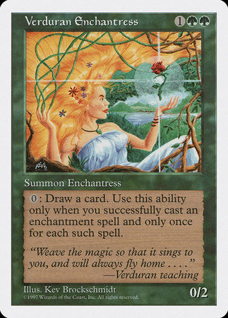 Verduran Enchantress [Fifth Edition] | Eastridge Sports Cards & Games