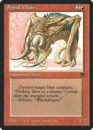 Spinal Villain [Legends] | Eastridge Sports Cards & Games