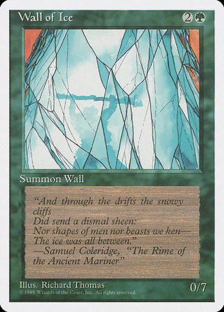 Wall of Ice [Fourth Edition] | Eastridge Sports Cards & Games