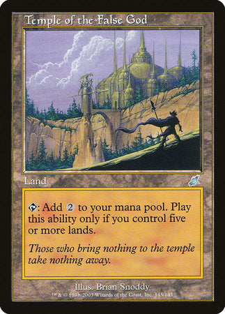 Temple of the False God [Scourge] | Eastridge Sports Cards & Games