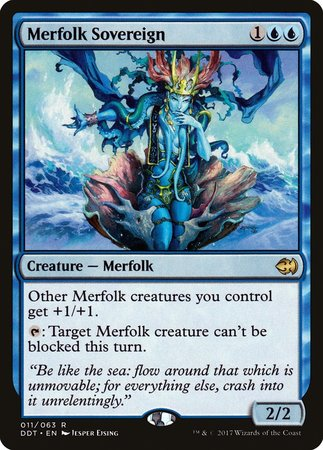 Merfolk Sovereign [Duel Decks: Merfolk vs. Goblins] | Eastridge Sports Cards & Games