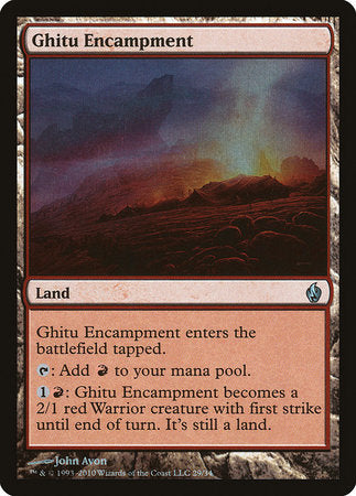 Ghitu Encampment [Premium Deck Series: Fire and Lightning] | Eastridge Sports Cards & Games