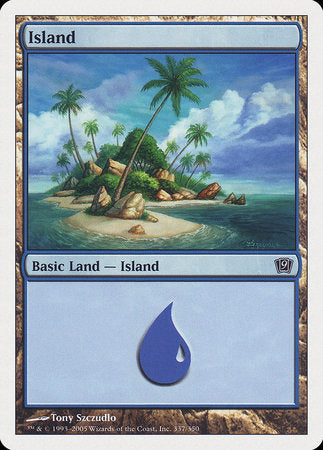Island (337) [Ninth Edition] | Eastridge Sports Cards & Games