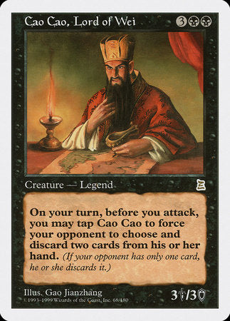 Cao Cao, Lord of Wei [Portal Three Kingdoms] | Eastridge Sports Cards & Games