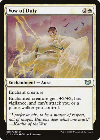 Vow of Duty [Commander 2015] | Eastridge Sports Cards & Games