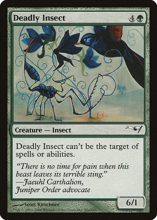 Deadly Insect [Coldsnap Theme Decks] | Eastridge Sports Cards & Games