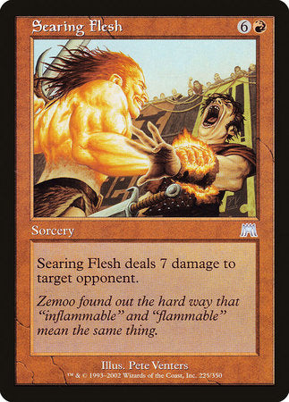 Searing Flesh [Onslaught] | Eastridge Sports Cards & Games