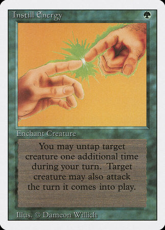 Instill Energy [Revised Edition] | Eastridge Sports Cards & Games