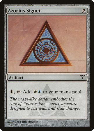 Azorius Signet [Dissension] | Eastridge Sports Cards & Games