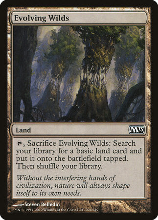 Evolving Wilds [Magic 2013] | Eastridge Sports Cards & Games