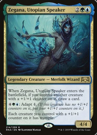 Zegana, Utopian Speaker [Ravnica Allegiance] | Eastridge Sports Cards & Games