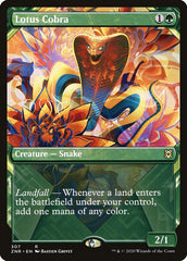 Lotus Cobra (Showcase) [Zendikar Rising] | Eastridge Sports Cards & Games