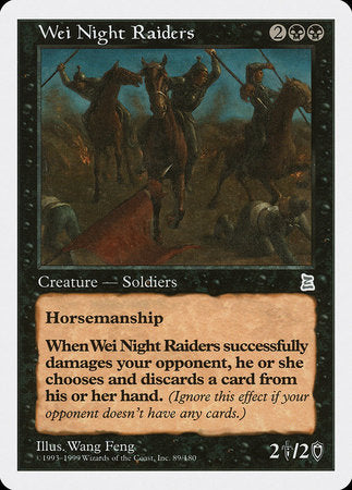 Wei Night Raiders [Portal Three Kingdoms] | Eastridge Sports Cards & Games