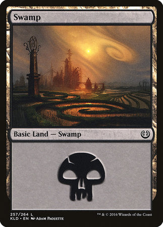 Swamp (257) [Kaladesh] | Eastridge Sports Cards & Games