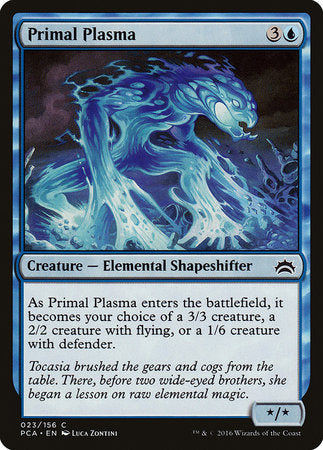 Primal Plasma [Planechase Anthology] | Eastridge Sports Cards & Games