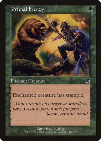 Primal Frenzy [Odyssey] | Eastridge Sports Cards & Games