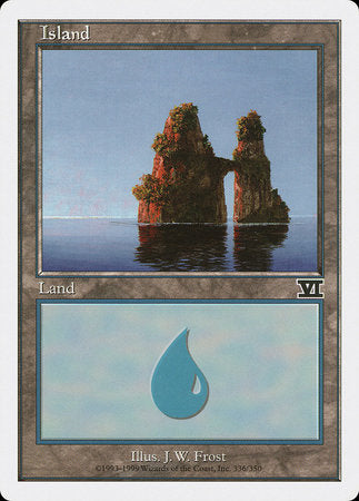 Island (336) [Classic Sixth Edition] | Eastridge Sports Cards & Games