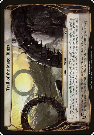 Trail of the Mage-Rings (Planechase Anthology) [Planechase Anthology Planes] | Eastridge Sports Cards & Games