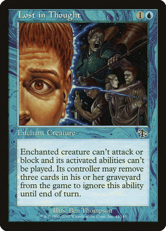 Lost in Thought [Judgment] | Eastridge Sports Cards & Games