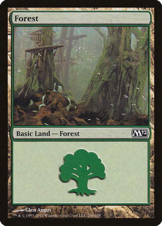 Forest (246) [Magic 2012] | Eastridge Sports Cards & Games