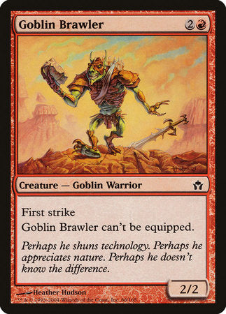 Goblin Brawler [Fifth Dawn] | Eastridge Sports Cards & Games