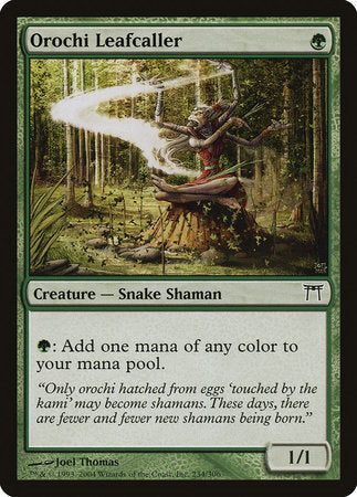 Orochi Leafcaller [Champions of Kamigawa] | Eastridge Sports Cards & Games